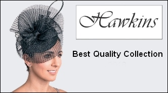 HAWKINS chapeau de ceremonie wedding hat fascinator