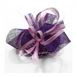 Chapeau mariage Chapeau mariage violet mauve