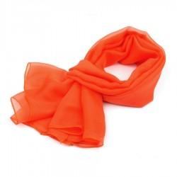 Foulard Etole légère orange