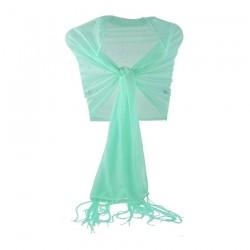 Foulard Etole mariage stretch strass vert
