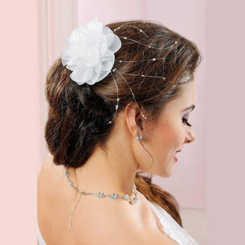 Accessoire coiffure mariage fleur