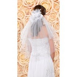 Voile mariage tulle dentelle