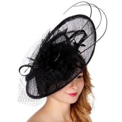 Grand chapeau de cérémonie noir