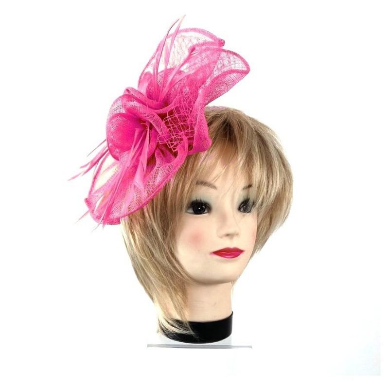Bibi accessoire de coiffure rose fuchsia