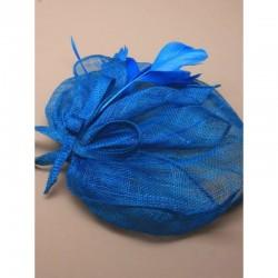 Chapeau mariage chapeau de mariage bleu turquoise
