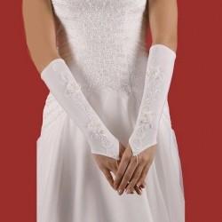 Gants mariage application  fleurs