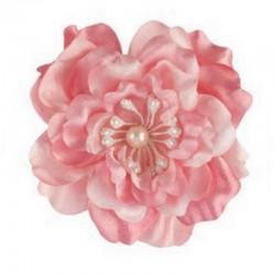 Fleur satin rose