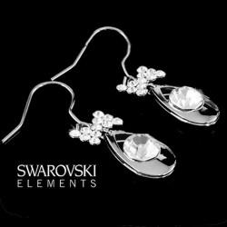 Boucles d oreilles sexy cristal Swarovski