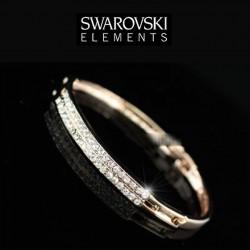 Bracelet cristal Swarovski or rose