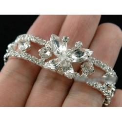 Bracelet papillon en cristal strass Swarovski