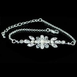 Parure bijoux mariage avec bracelet