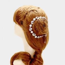 Vigne cheveux cristal reflets AB