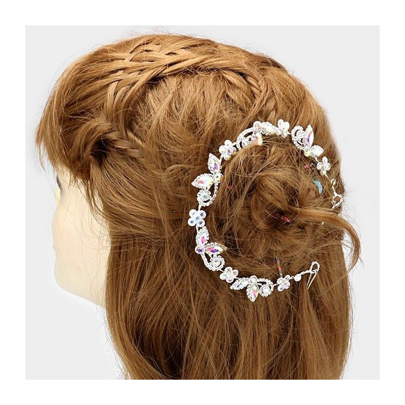 Vigne cheveux cristal AB