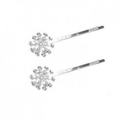 2 pinces cheveux cristal diamant