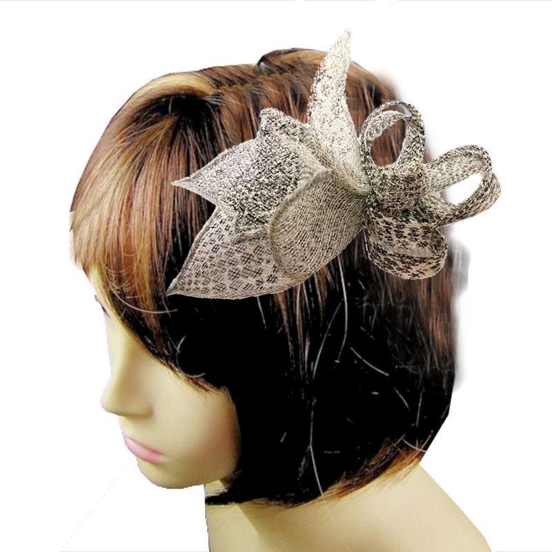 Chapeau mariage Accessoire coiffure serpent bicolore noir blanc