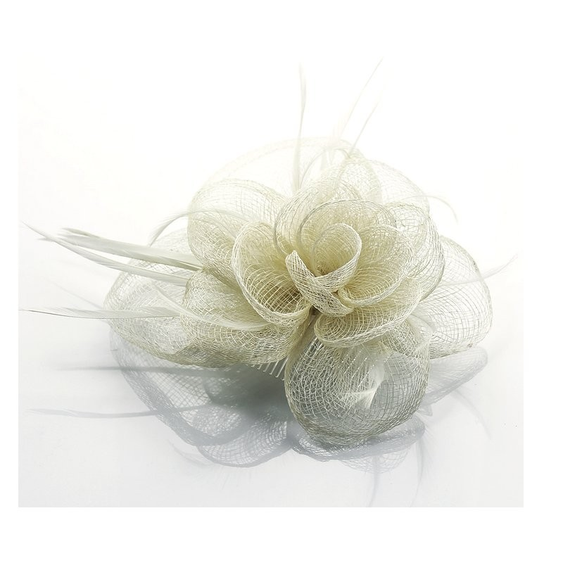 Chapeau mariage Accessoire de coiffure ivoire
