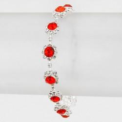 Bracelet cristal rouge
