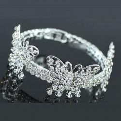 Bracelet papillons cristal