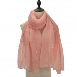 Etole légère perles et paillettes rose