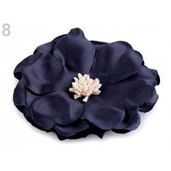 Grosse fleur tissu satin 75mm