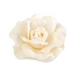 2 Roses pour cheveux ou broche rose clair
