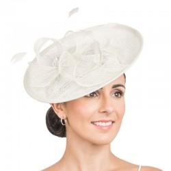 Chapeau de cérémonie blanc