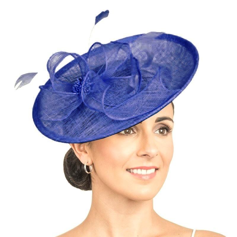 Chapeau de cérémonie Bleu Royal
