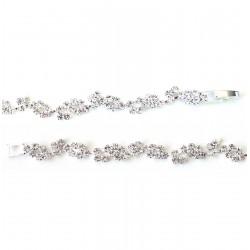 Bracelet cristal / Bracelet mariage, bracelet strass