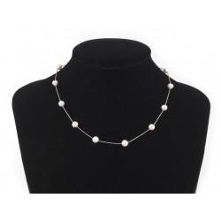 Collier de perles nacrées / collier perles mariage, perles mariée
