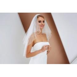 Voile de mariée 60 cm double couche